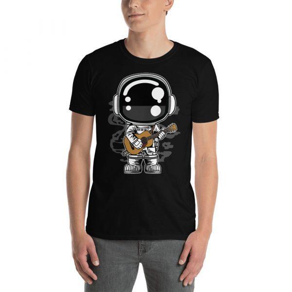 unisex basic softstyle t shirt black front 60bd1c2838c71