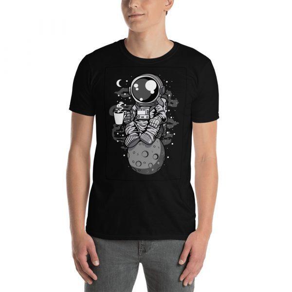 unisex basic softstyle t shirt black front 60bd283714405