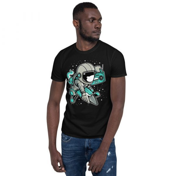 unisex basic softstyle t shirt black front 60fd900c9e633