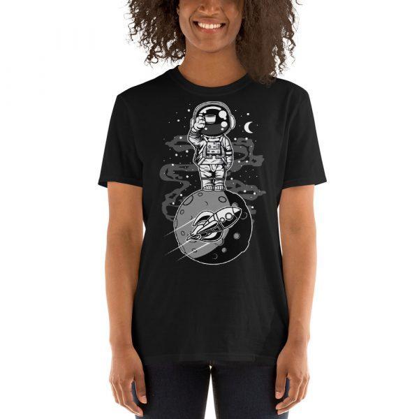 unisex basic softstyle t shirt black front 60fd9249b41bc