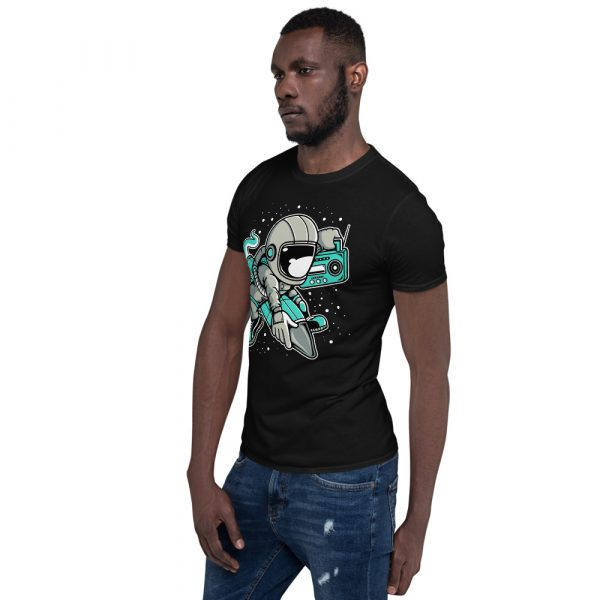 unisex basic softstyle t shirt black left front 60fd900c9e94e