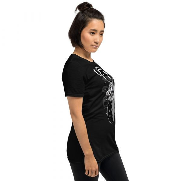 unisex basic softstyle t shirt black right front 60fd8f4514548