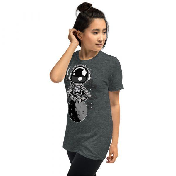 unisex basic softstyle t shirt dark heather left front 60fd8f45157a2