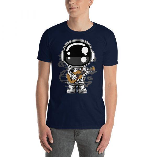 unisex basic softstyle t shirt navy front 60bd1c2838eec