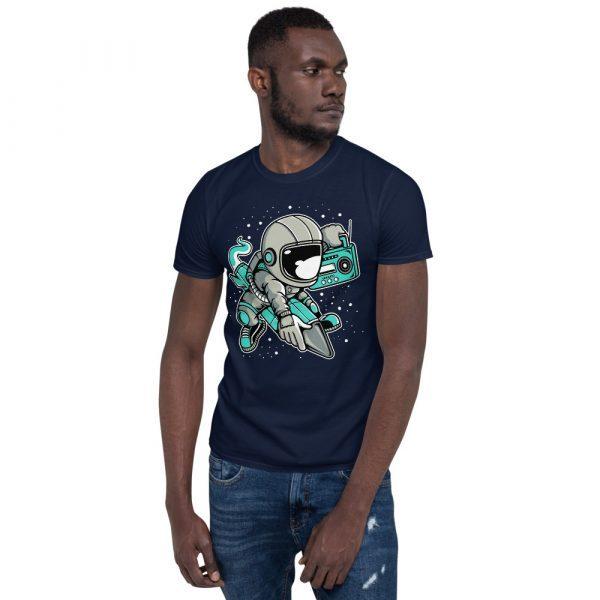 unisex basic softstyle t shirt navy front 60fd900c9eb6c