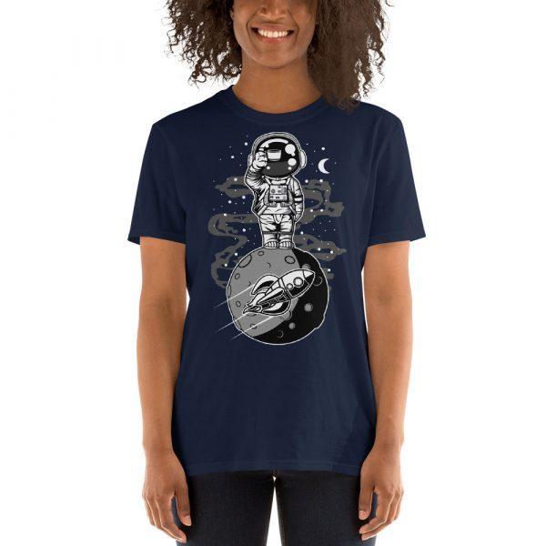 unisex basic softstyle t shirt navy front 60fd9249b434e