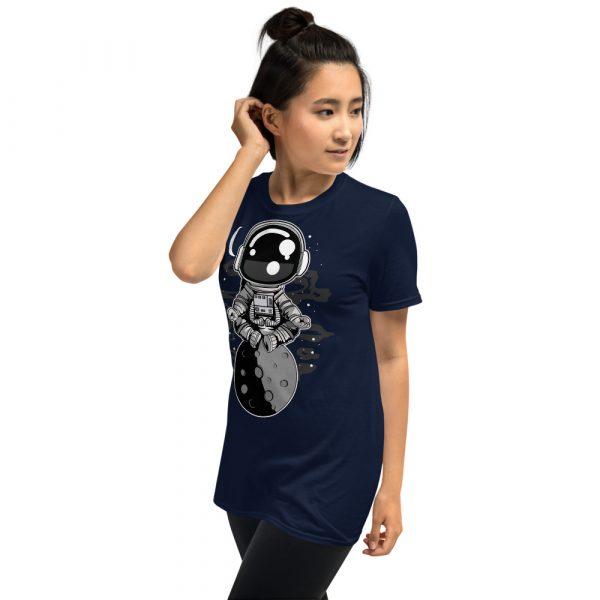 unisex basic softstyle t shirt navy left front 60fd8f4514f01